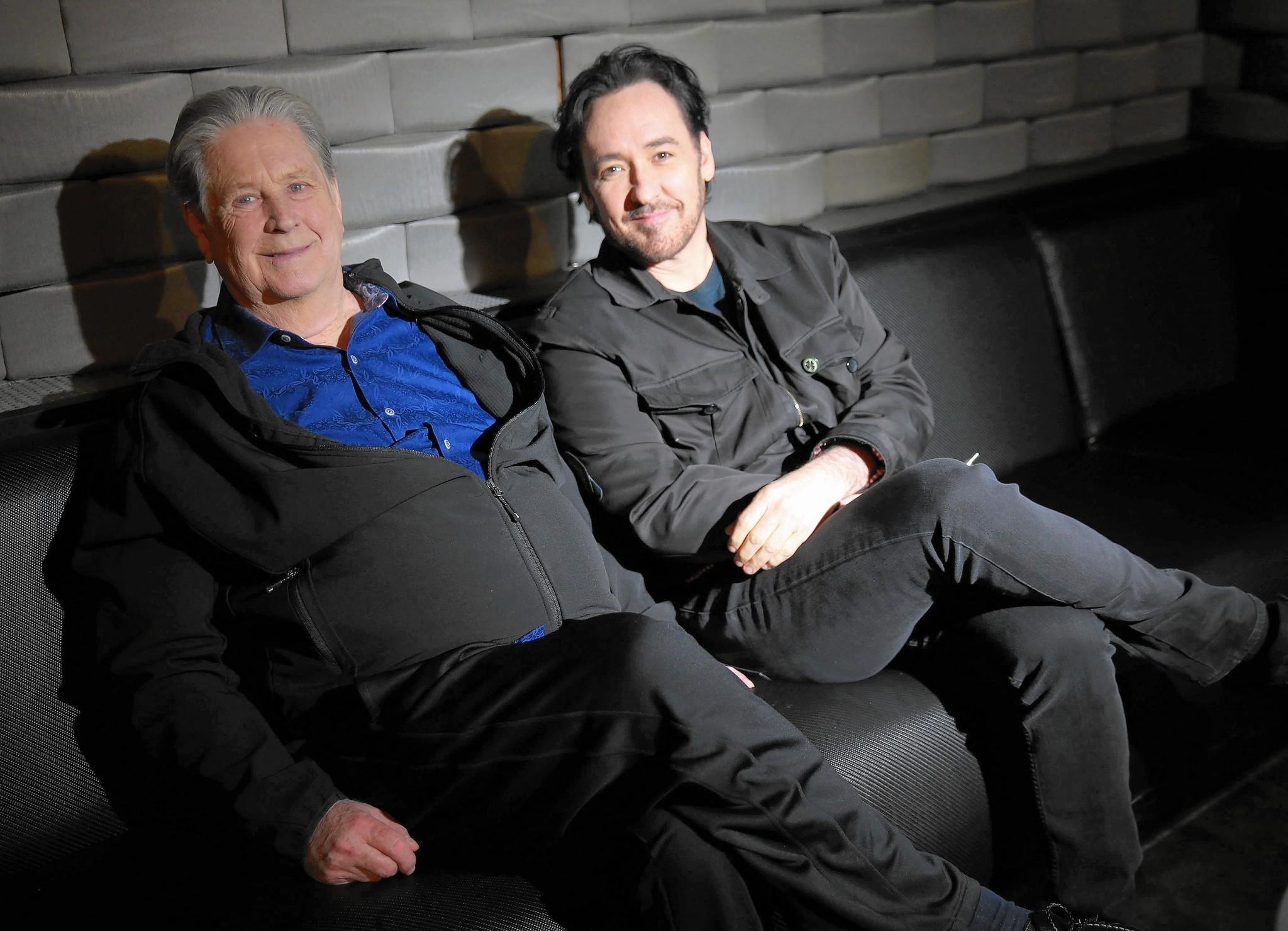 John Cusack Brian Wilson Brian Wilson And John Cusack