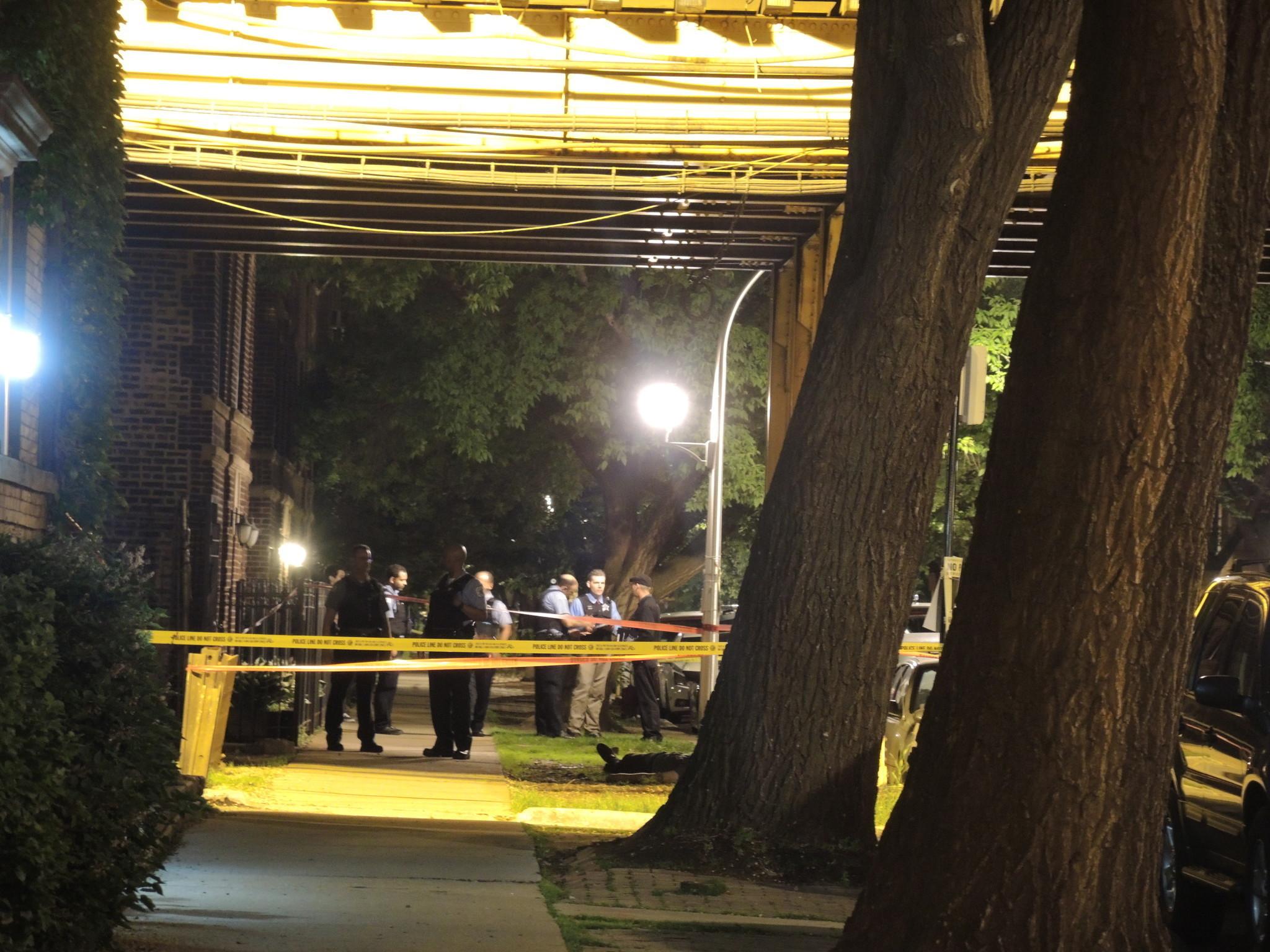 2 dead, 16 hurt in city shootings