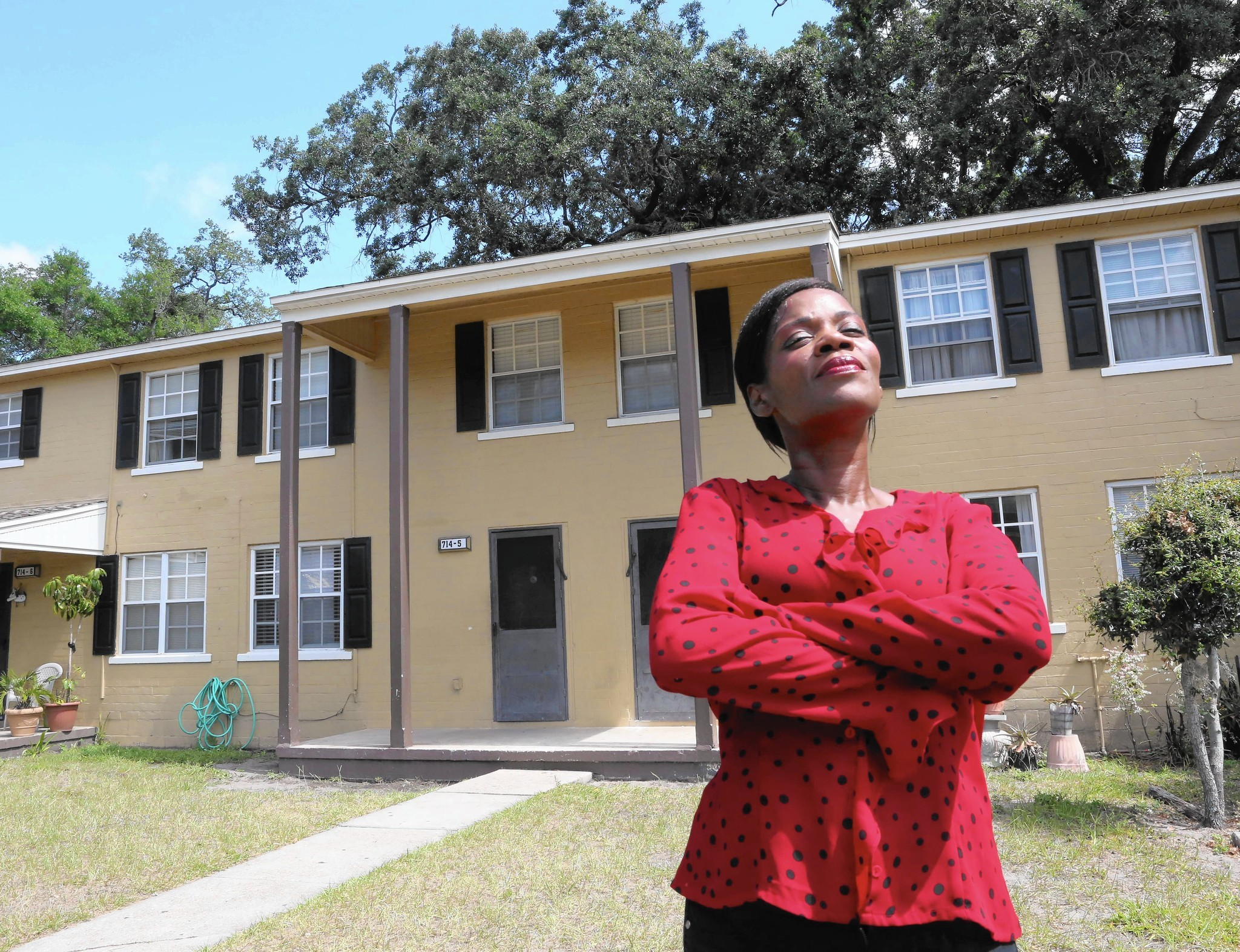 Exceptional Veteran On Front Lines In Battle At Orlando Housing Project   Orlando  Sentinel