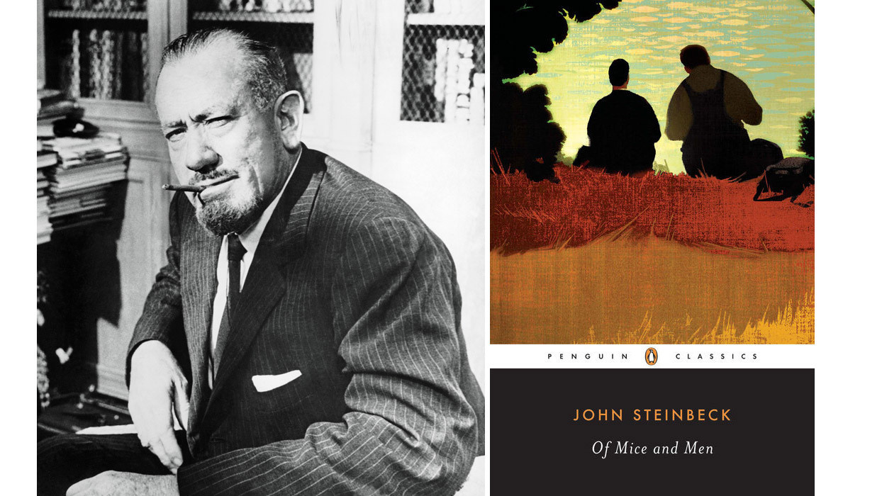 a summary of john steinbecks of mice and men What more can i possibly add to a discussion of john steinbeck's of mice and men without drawing a high school english teacher's salary a quick summary.