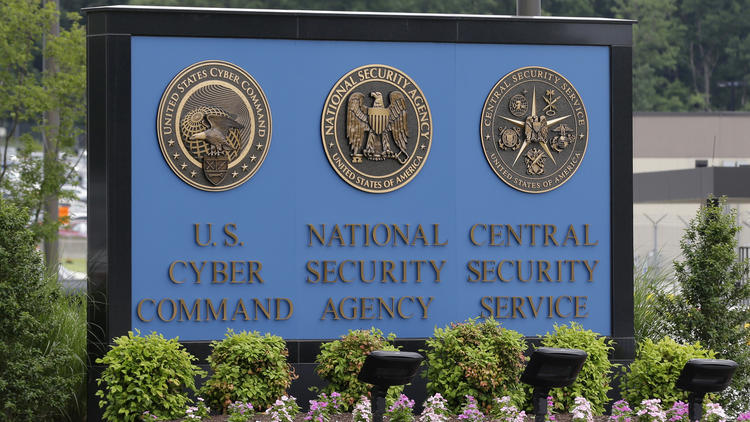 The National Security Agency campus at Ft. Meade, Md. (Patrick Semansky / Associated Press) None