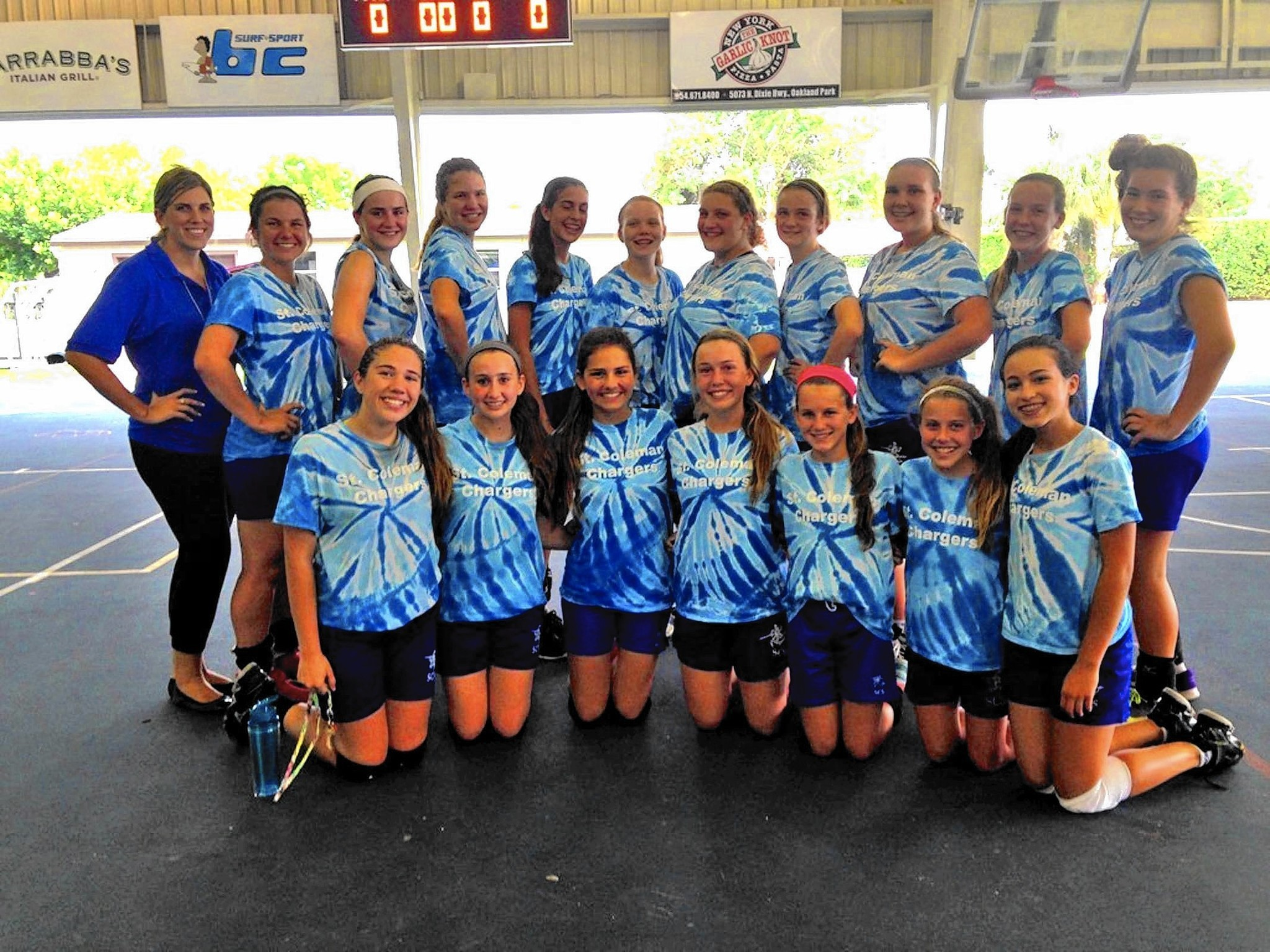 St Coleman Chargers At Full Power In Volleyball Finals