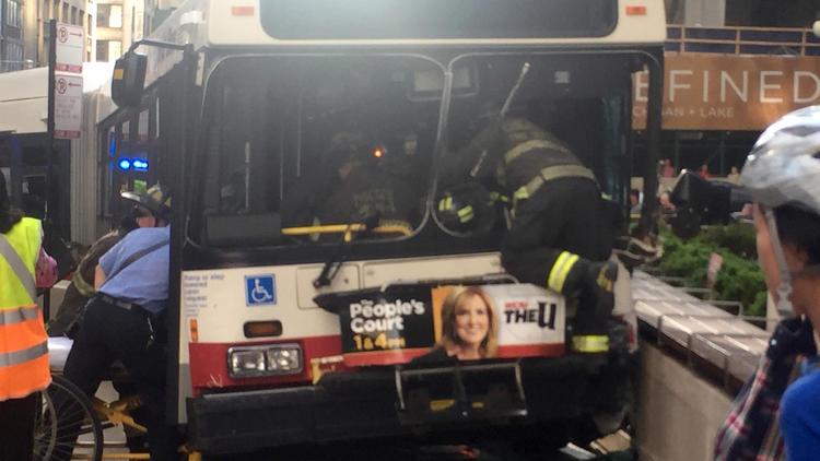 CTA bus crash