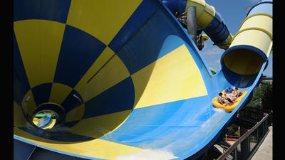 Pictures: Florida's most thrilling water park slides