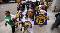 Los Angeles City Council approves landmark minimum wage increase