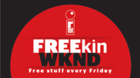 FREEkin WKND RedEye is giving away free stuff every Friday! Check out the weekly giveaway calendar here.