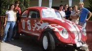 La Cañada History: Senior prank features Volkswagen Beetle