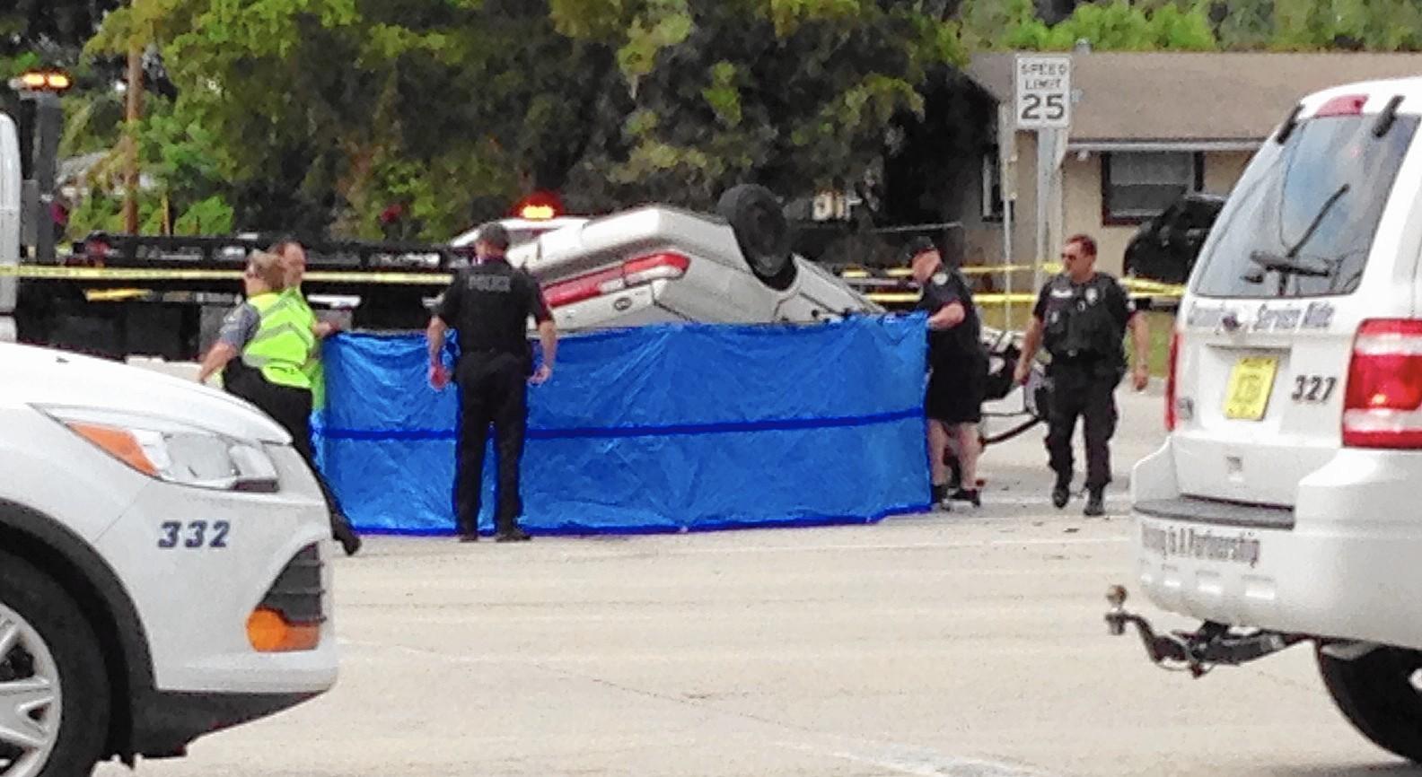 Coral Springs Man 34 Dies In Margate Crash Orlando
