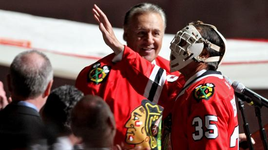 Phil And Tony Esposito At Core Of Lightning-Blackhawks Connection