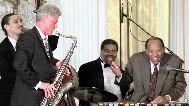 Bill Clinton, Lionel Hampton