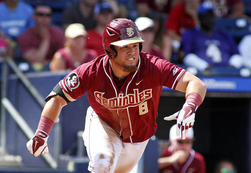 <p>The Orioles drafted DJ Stewart (pictured), an outfielder out of Florida State, with the 25th overall selection. They also picked shortstop Ryan Mountcastle (Hagerty High School in Oviedo, Fla.) with the 36th overall selection, a compensatory pick.</p>