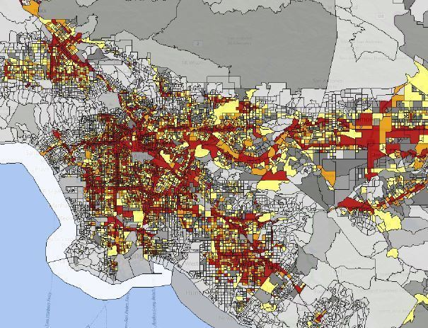 Worksheet. EPA environmental justice map highlights Californias pollution