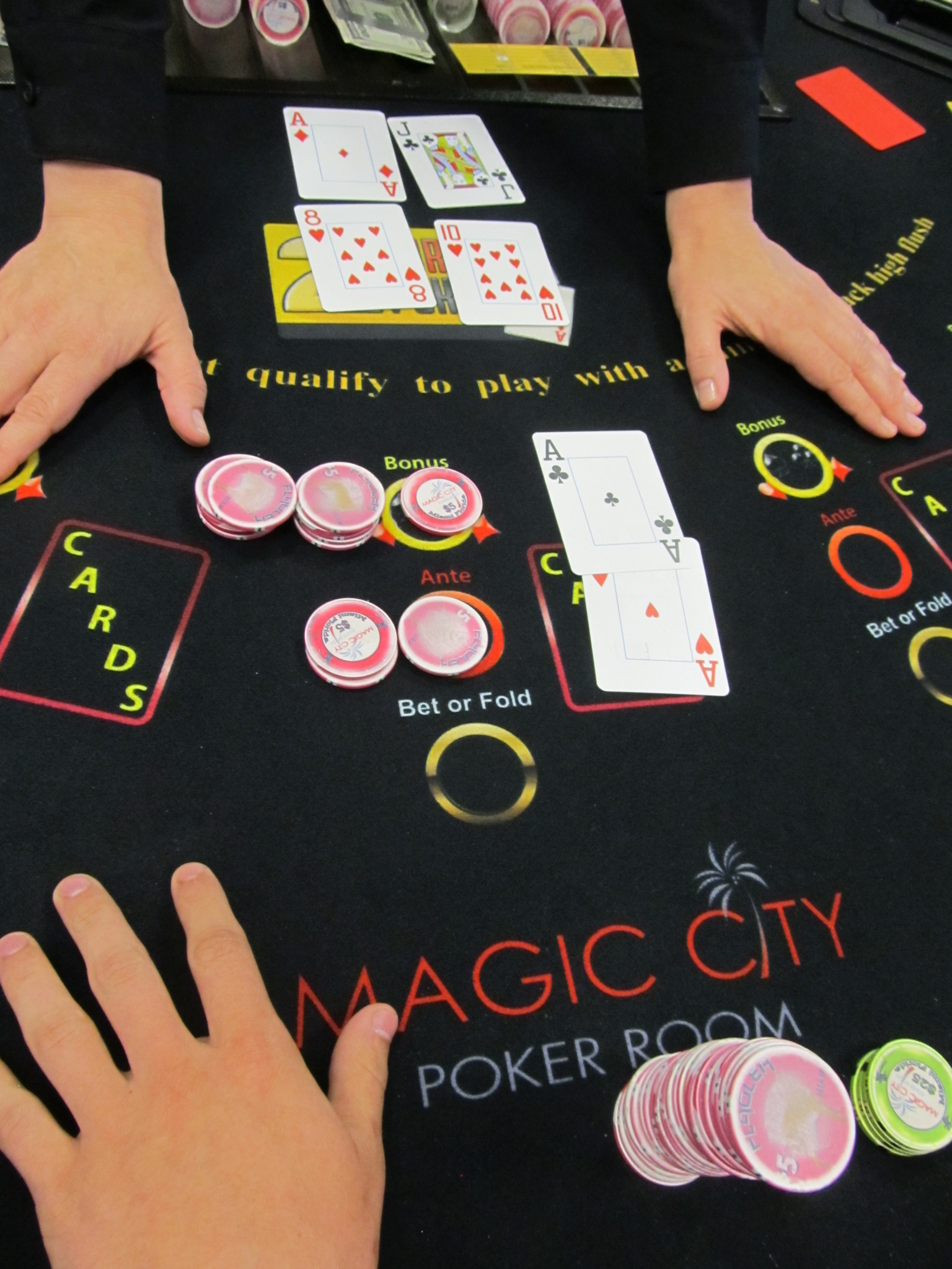 Magic city casino poker casino bus rides