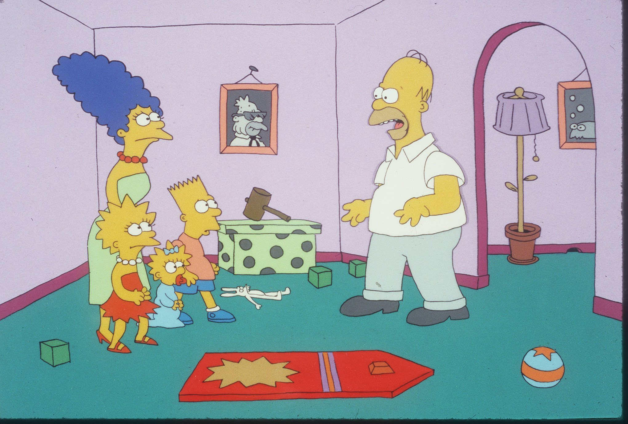 Relax everyone marge and homer simpson have already been divorced orlando sentinel - Marge simpson et bart ...