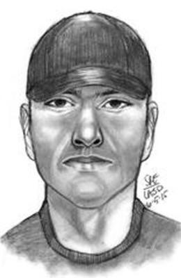 Sketch of suspect in Patel slaying