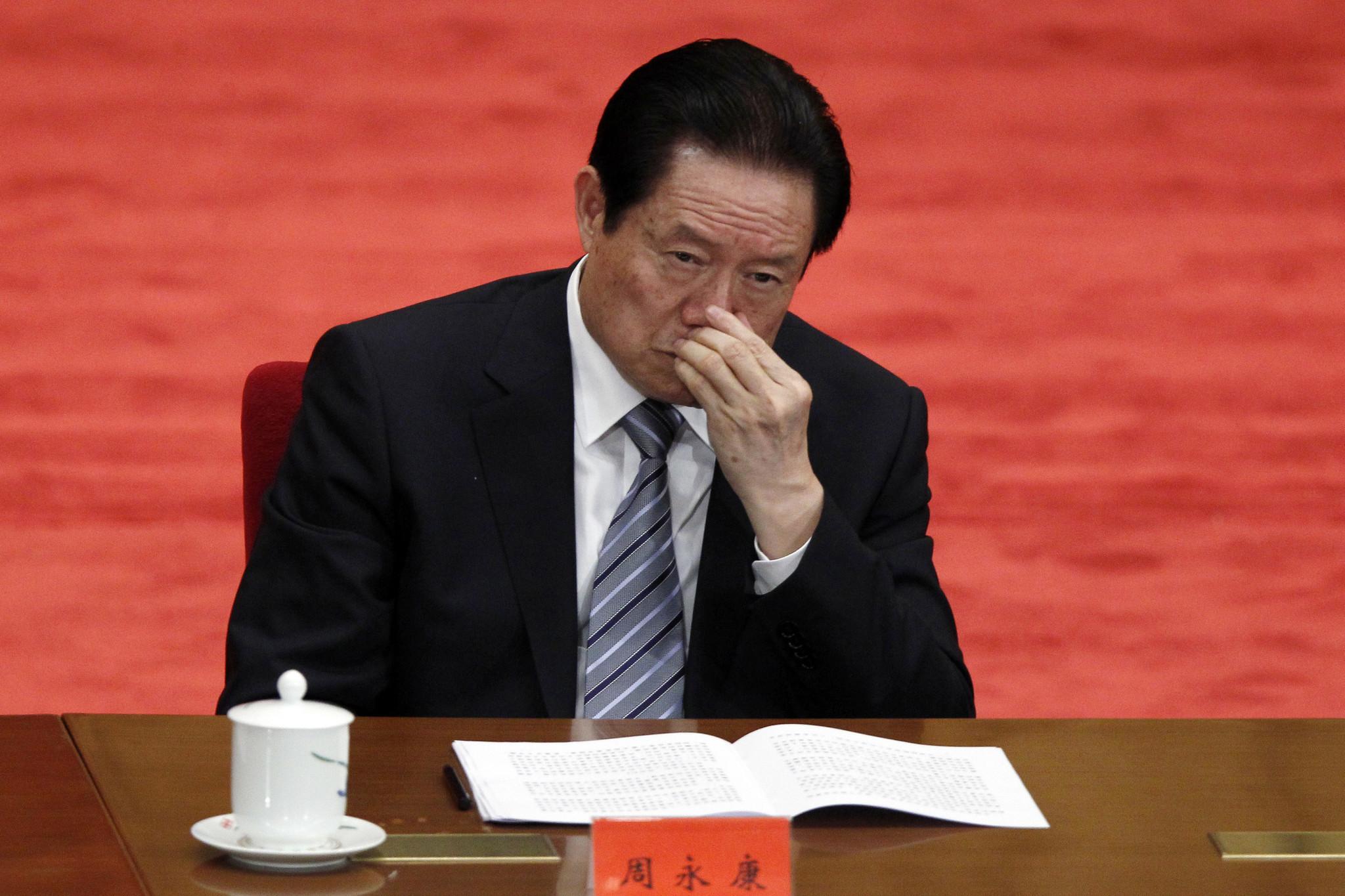 Quiet end to China graft trial: Ex-security czar gets life term