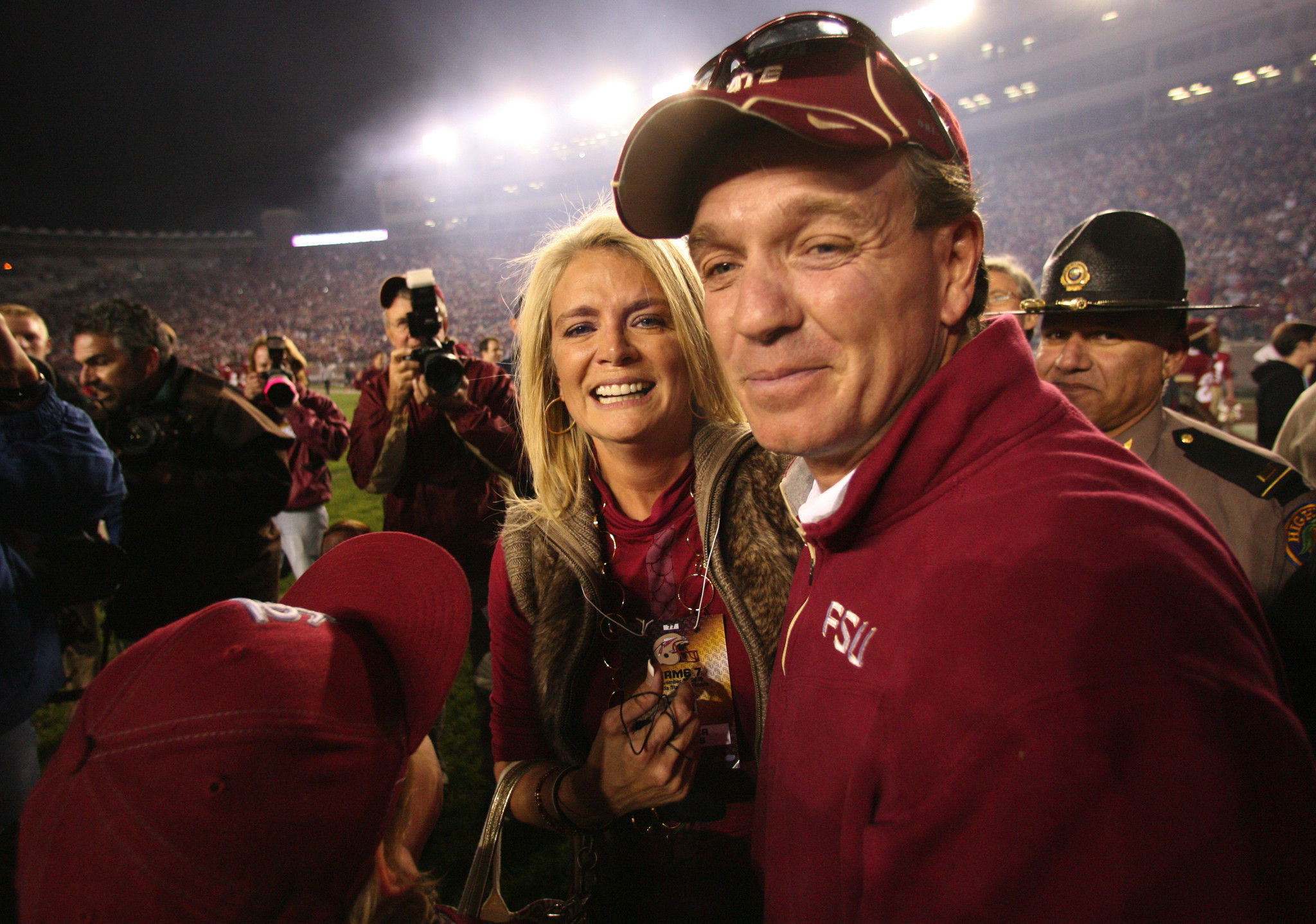 FSU coach Jimbo Fisher, wife reportedly separated ...