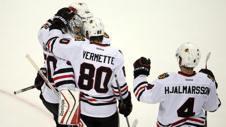 Blackhawks Big Late-season Investment In Antoine Vermette Paying Off Huge