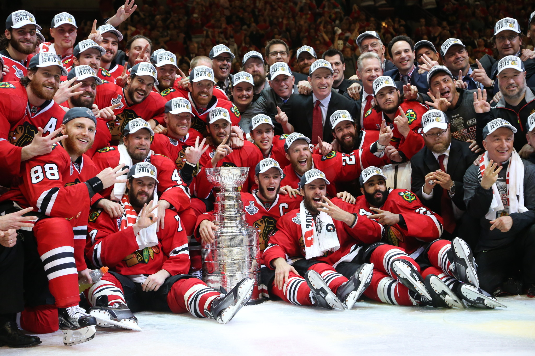 blackhawks dont disappoint make their case for pantheon