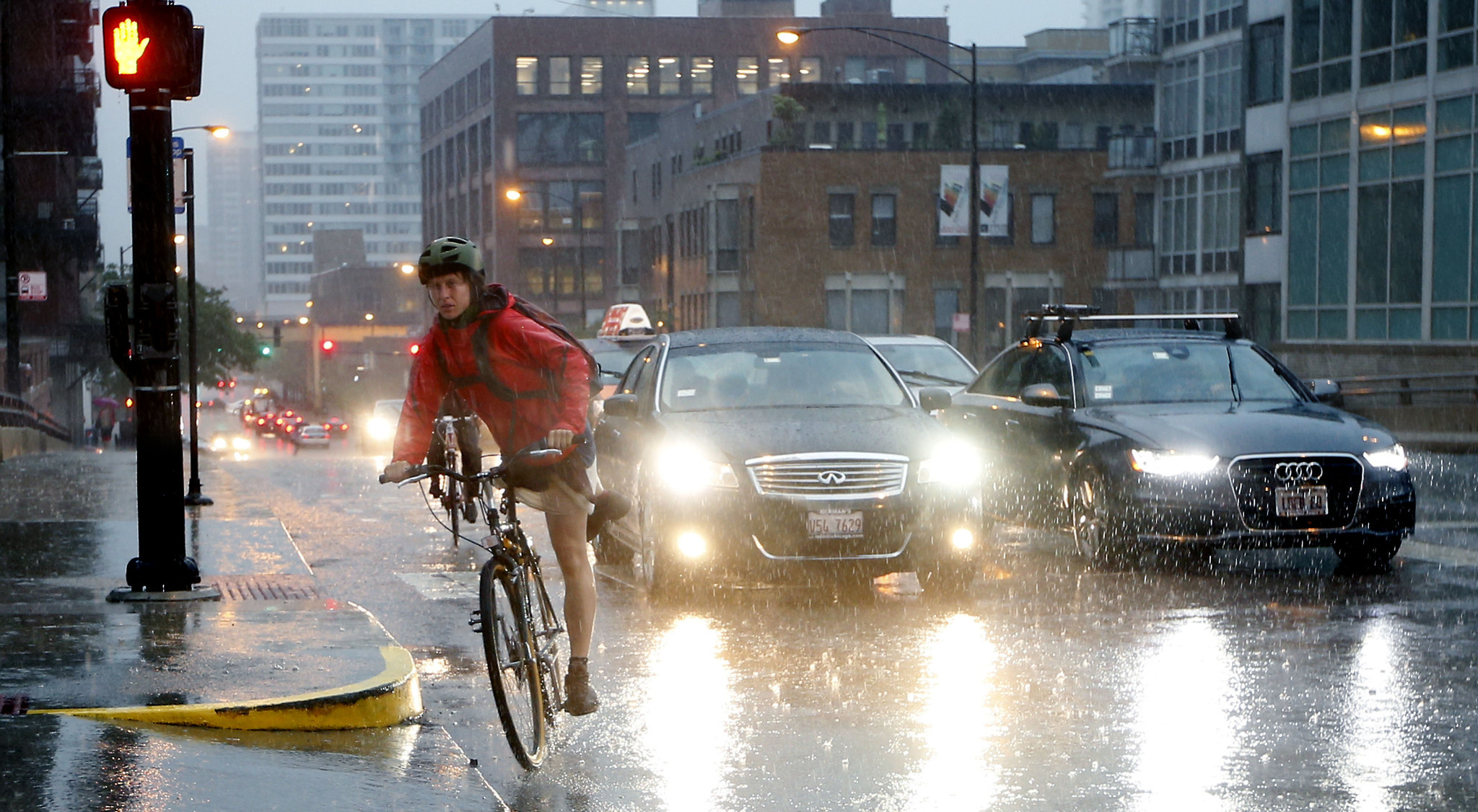 Drier air follows floods, but rain may return for ...