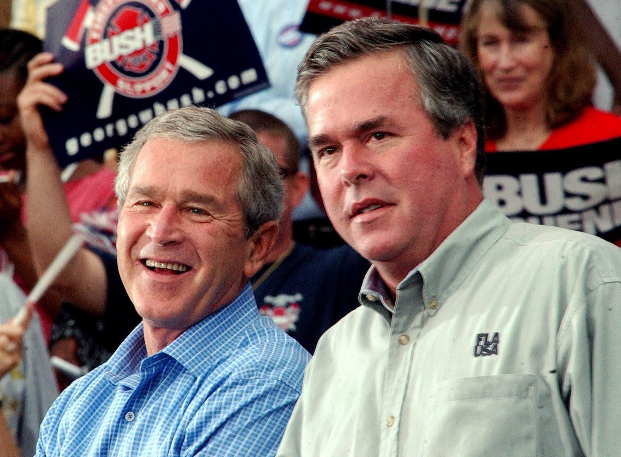 Bush brothers have a complex relationship, marked by ...
