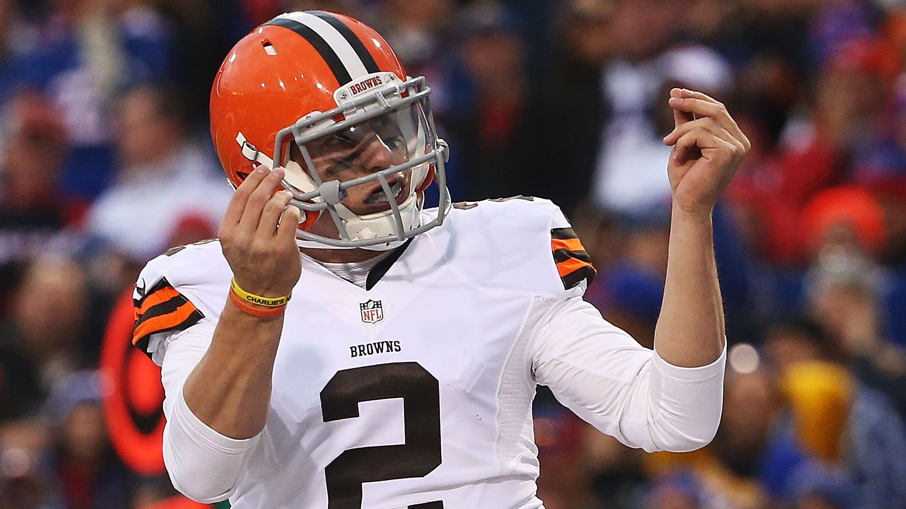 cleveland browns quarterback johnny manziel says his