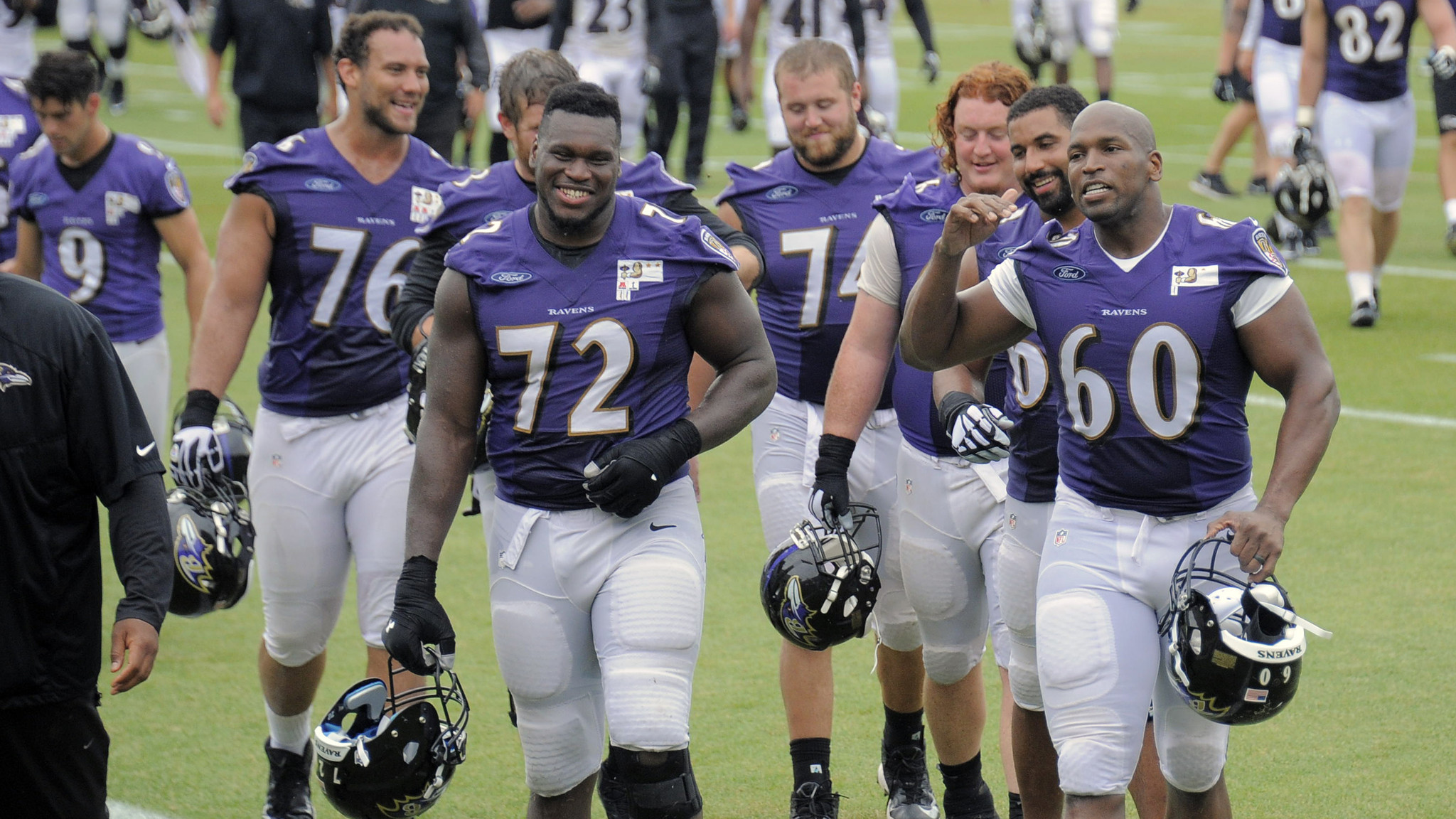 Ravens guard Kelechi Osemele feels good about his body of work