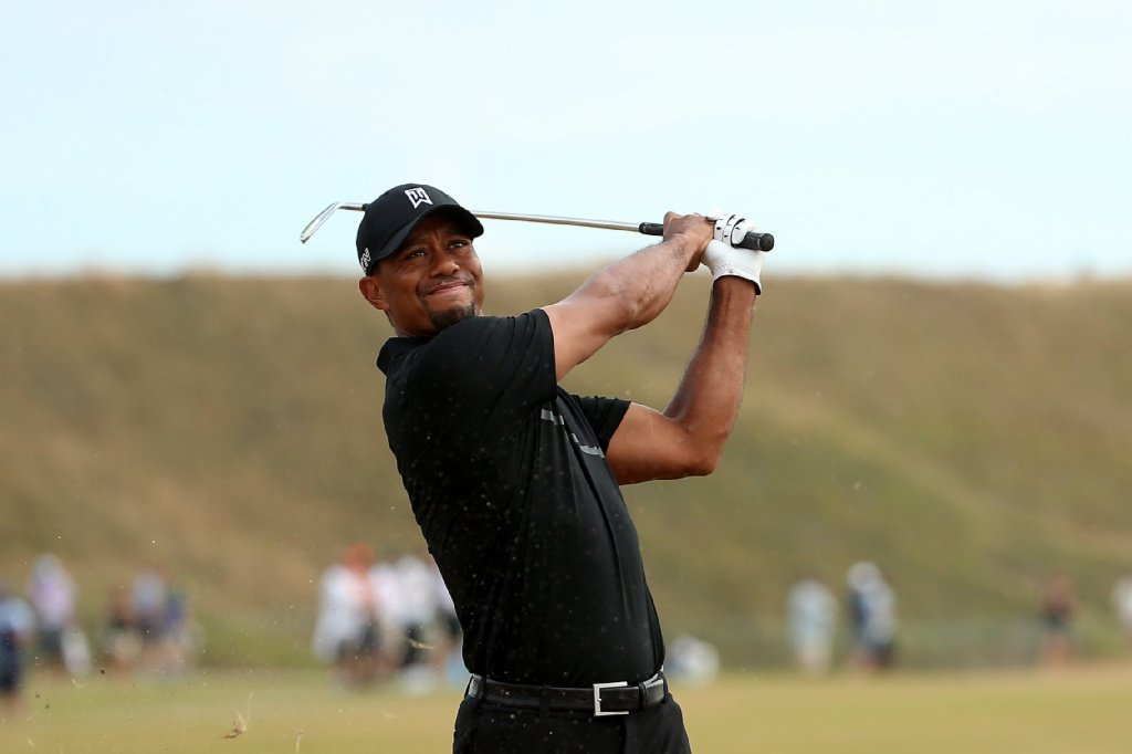 tiger woods cards an 80 at chambers bay in first round of