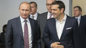 Россия и Греция рассмотрят возможность сотрудничества с целью обойти санкции Запада