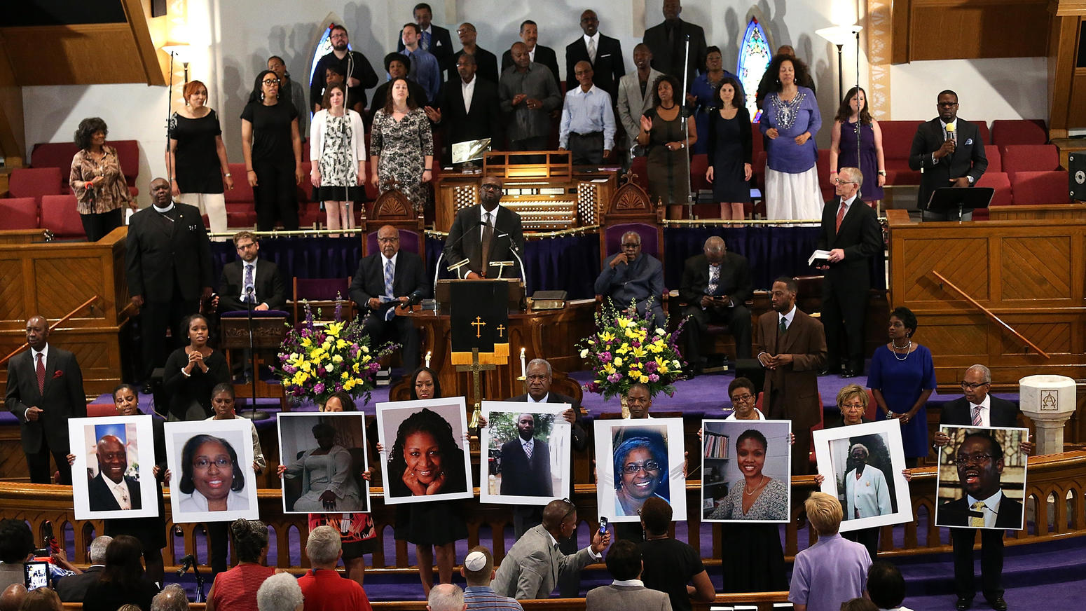 Charleston shooting victims