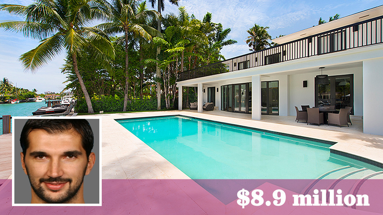 Ex Sacramento King Peja Stojakovic lists Miami home for $8 9