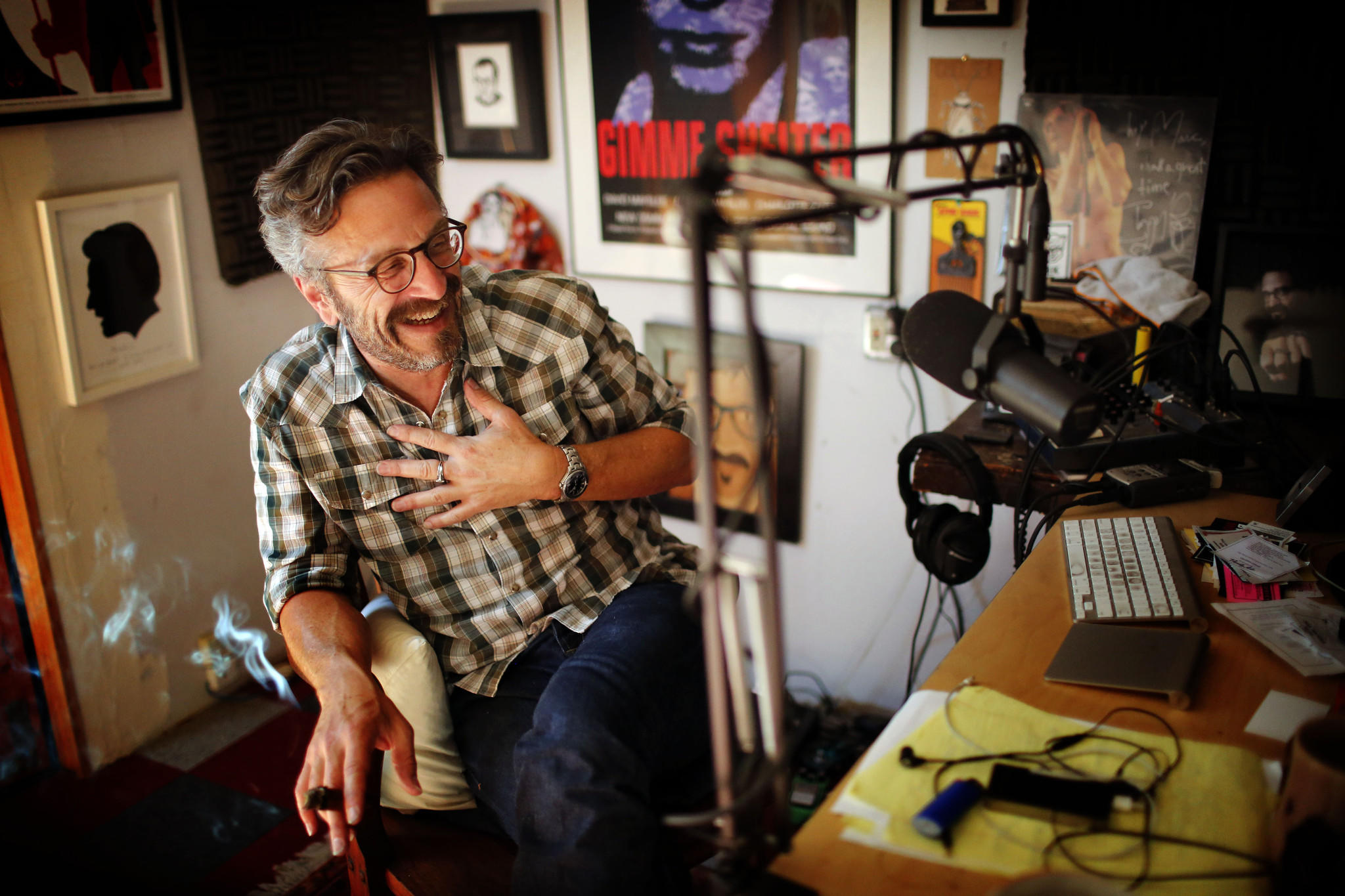 Marc Maron Addresses Louis CK's 'Vile, Inappropriate' Actions