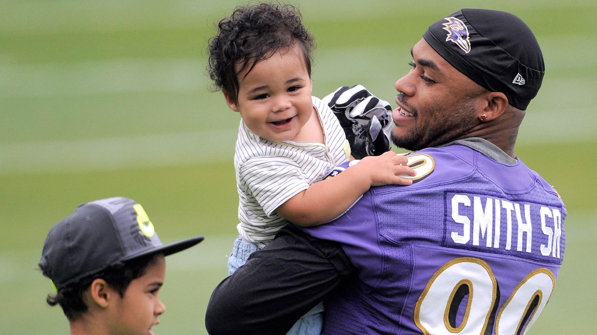 For Baltimore Ravens wide receiver Steve Smith Sr family always