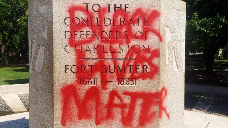 Charleston vandalism