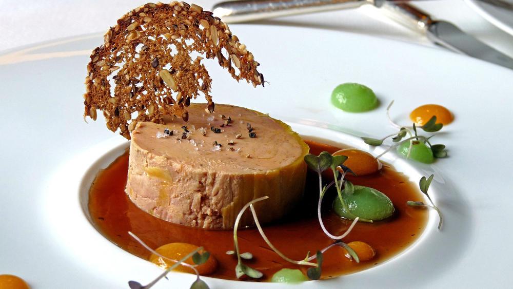 Foie gras at Le Bouquet Garni