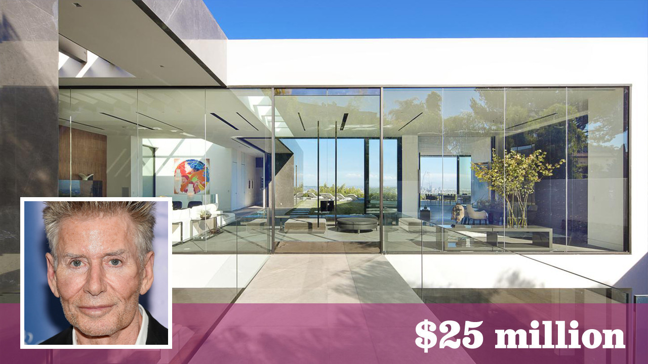 Calvin klein drops 25 million on a sleek showplace in for Calvin house