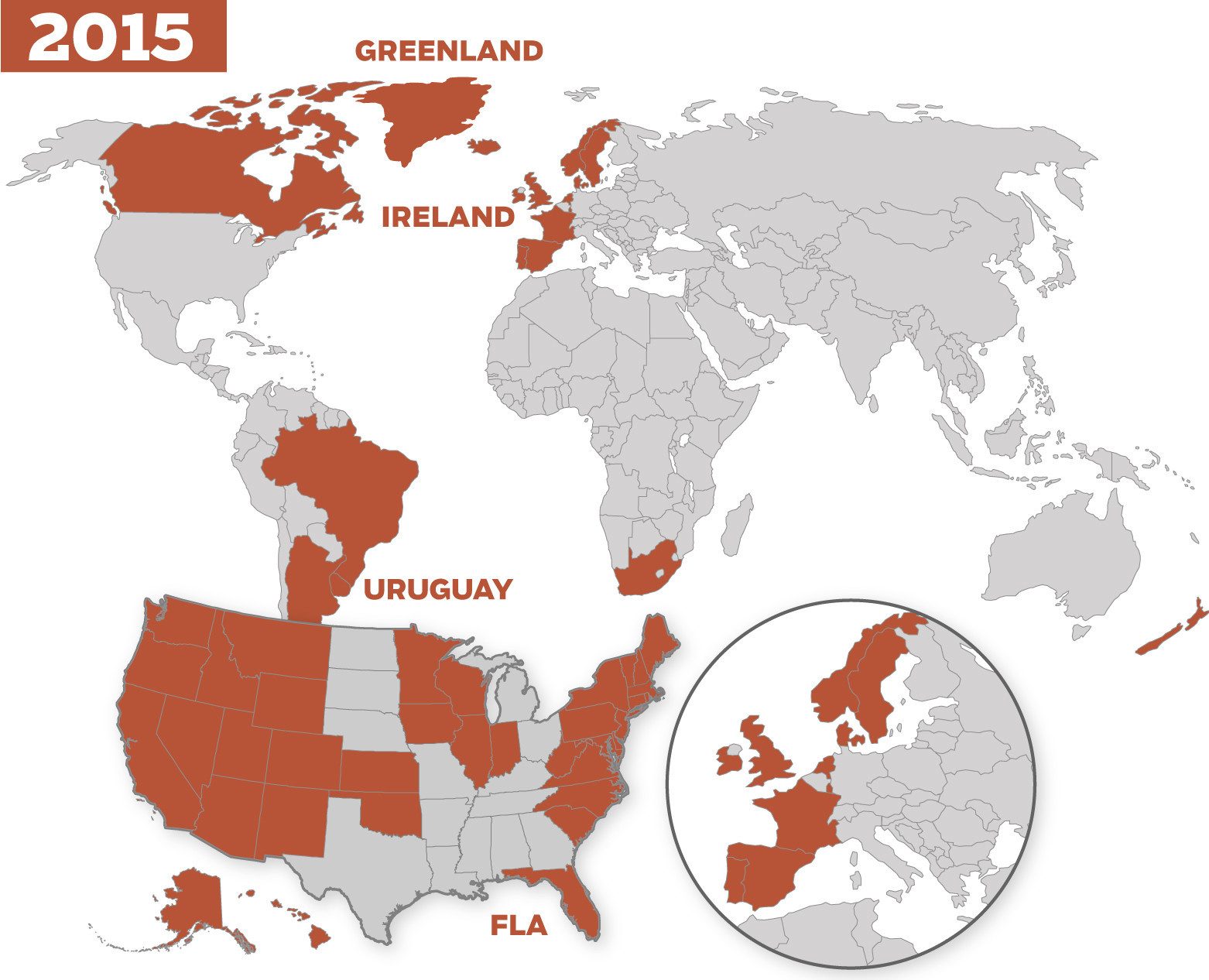 Gay Marriage Map World And US Chicago Tribune - Us gay marriage map