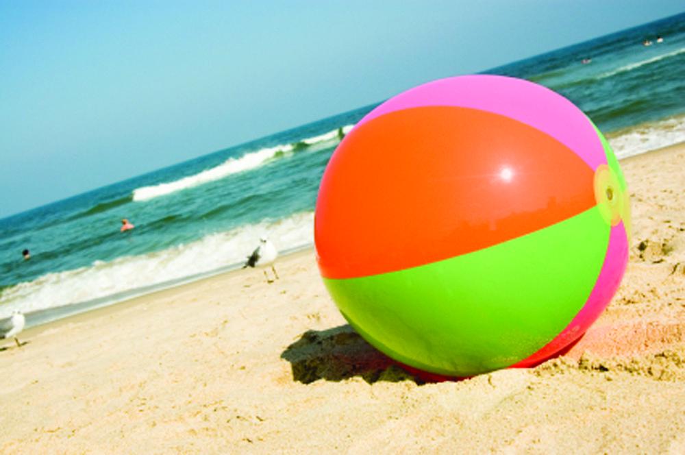 Beach Ball In Water making a splash: ocean city planning beach ball water tower
