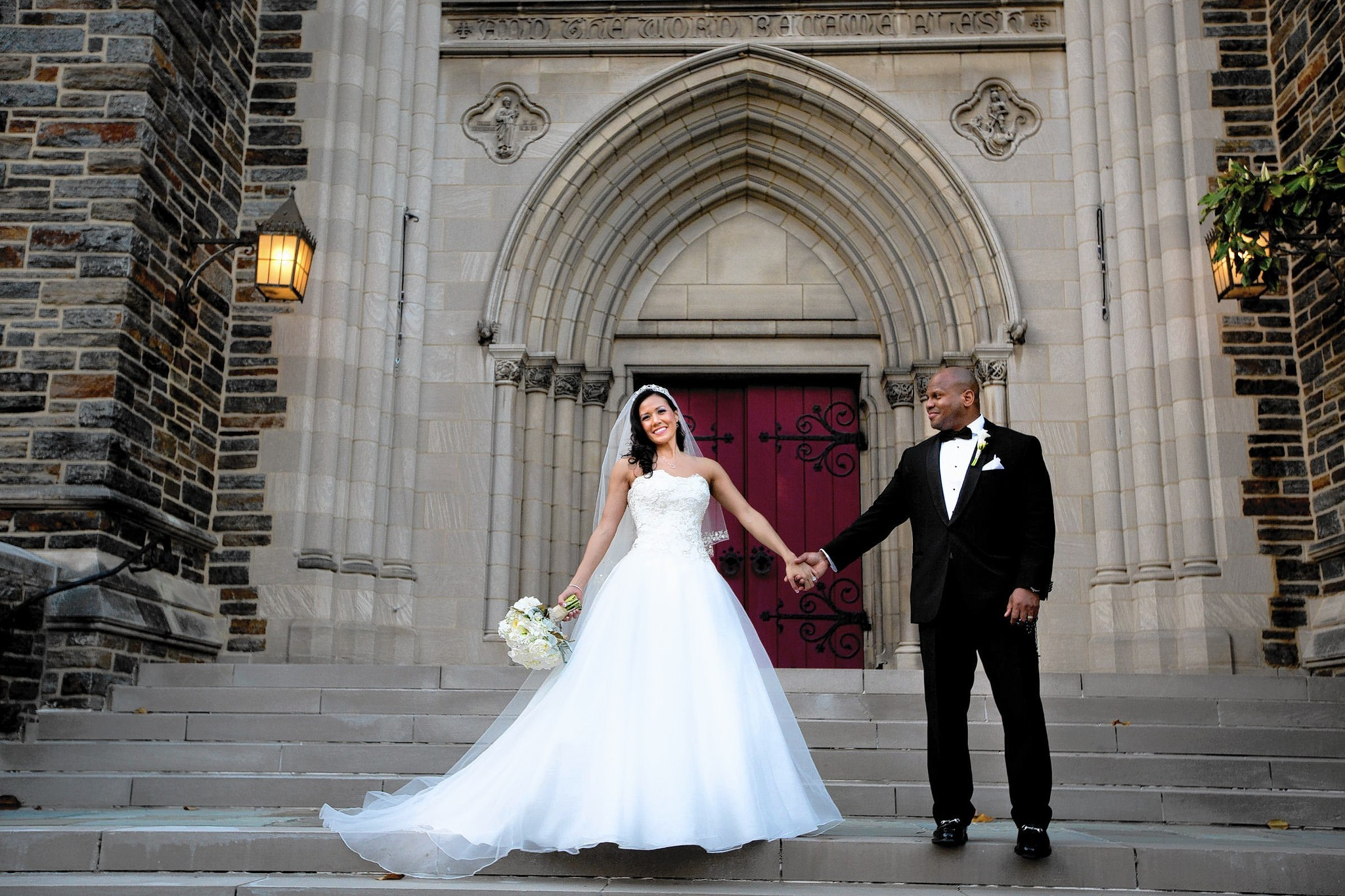 Wedded: Jessica McClintock and Marcus Glover - Baltimore Sun