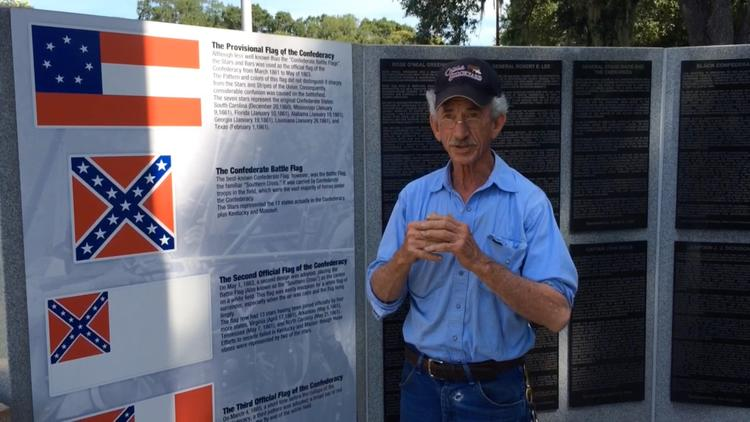 Tampa man says Confederate flag history site is a 'preservation of heritage'
