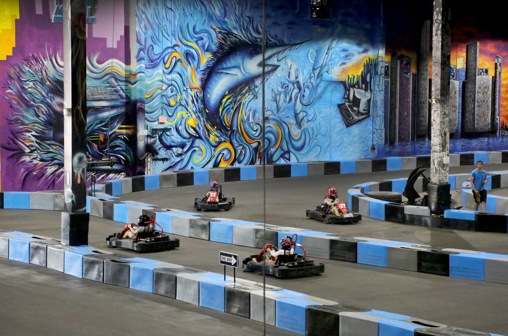Xtreme Action Park Debuts With Go Karts Rope Course And