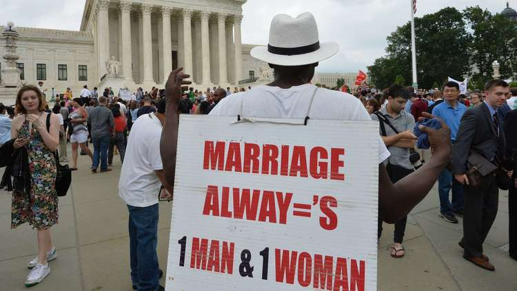Same-sex marriage ruling
