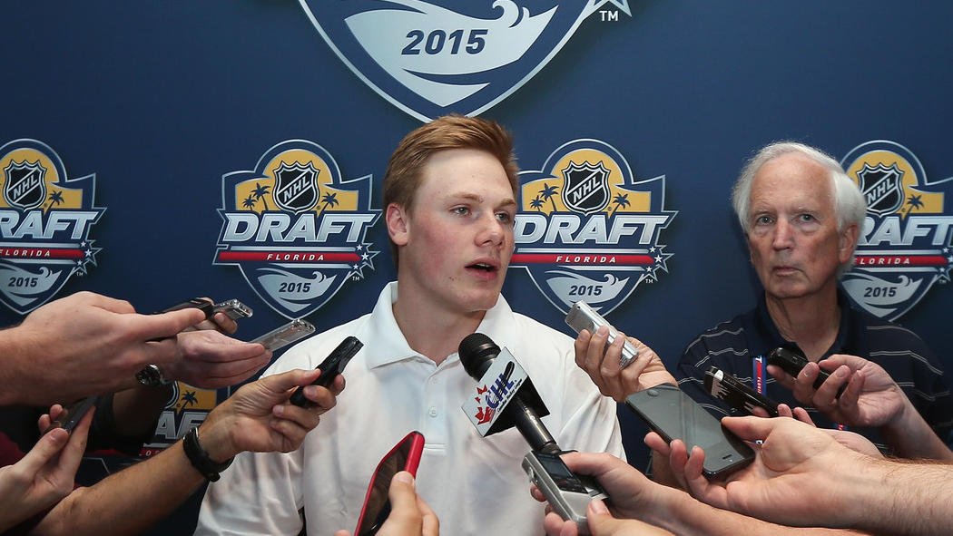Florida Panthers select Lawson Crouse with 11th pick in 2015 NHL ...
