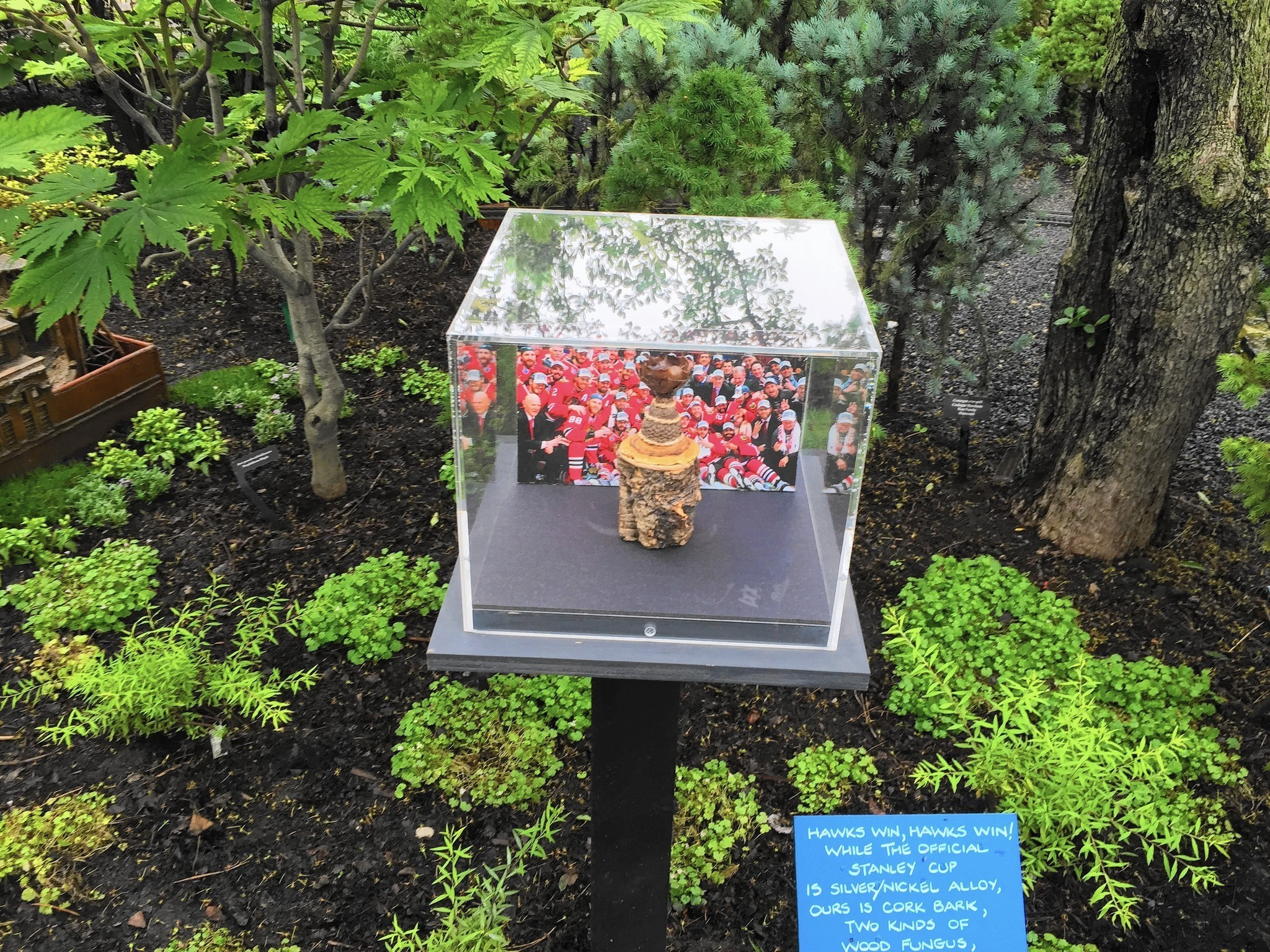 New Landmarks Join Chicago Botanic Garden Model Train Exhibit Glencoe News