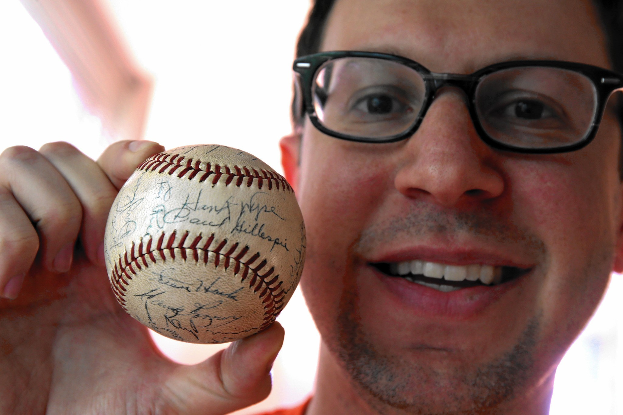 A vintage baseball collection built on memories