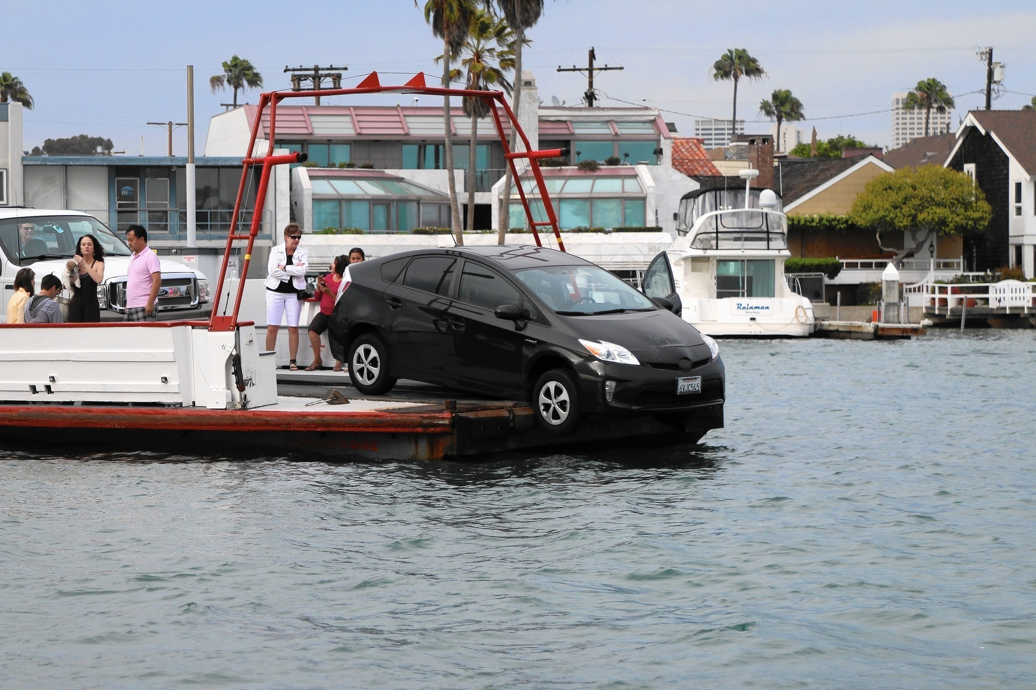 Car Nearly Falls Off Balboa Ferry After Lurching Through