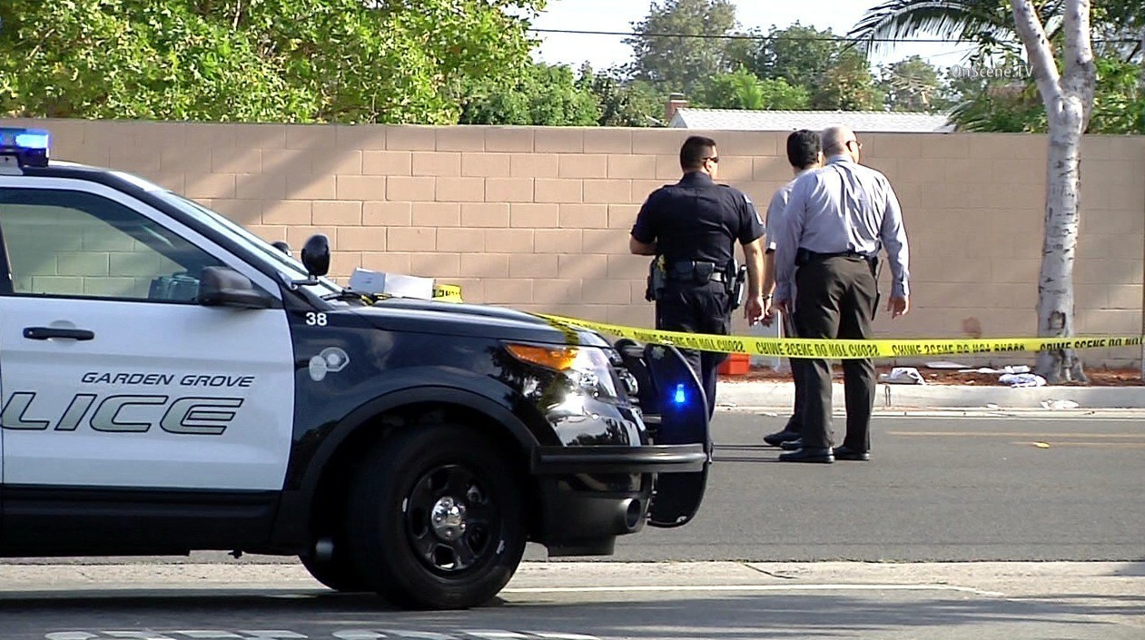 Police shoot wound armed 18 year old in garden grove la times Garden grove breaking news now