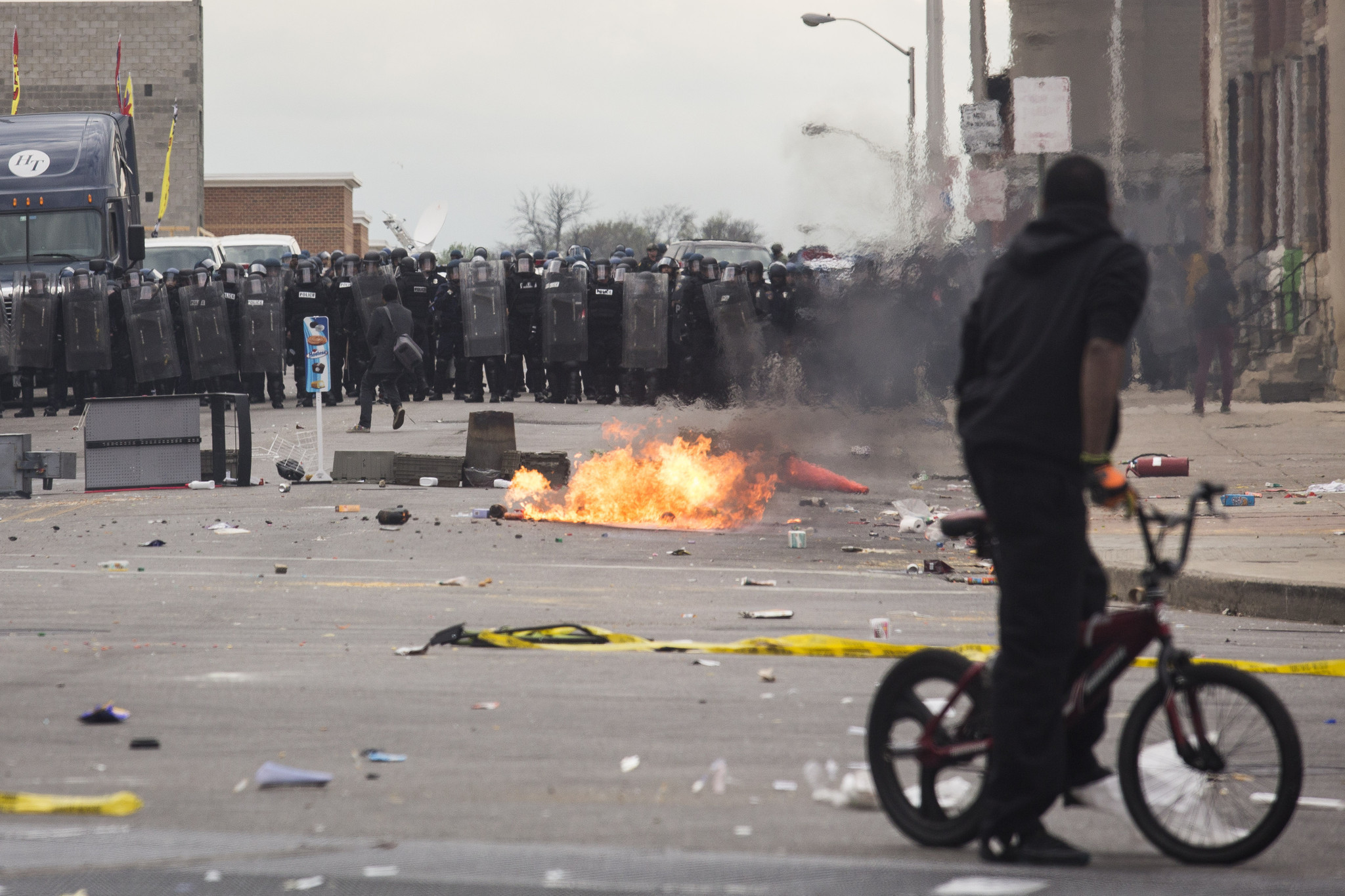 Baltimore police commands during riots - Baltimore Sun