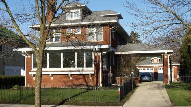 Built in 1921, the brick house had not officially been listed. The sellers were a couple who bought it in 2013 for $895,000, netting them a $305,000 profit in less than two years.