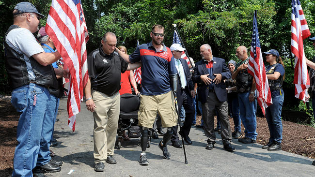 Whitehall soldier Adam Keys has his long-awaited homecoming